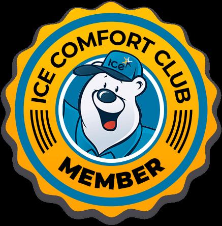Ice Comfort Club badge